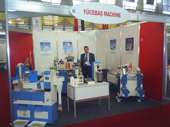 TURKISH MACHINERY EXPO 2004 KAHİRE - MISIR