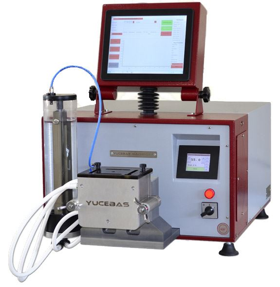 FLOUR TESTING DEVICE WITH AUTOMATIC WATER DOSING SYSTEM - Y38